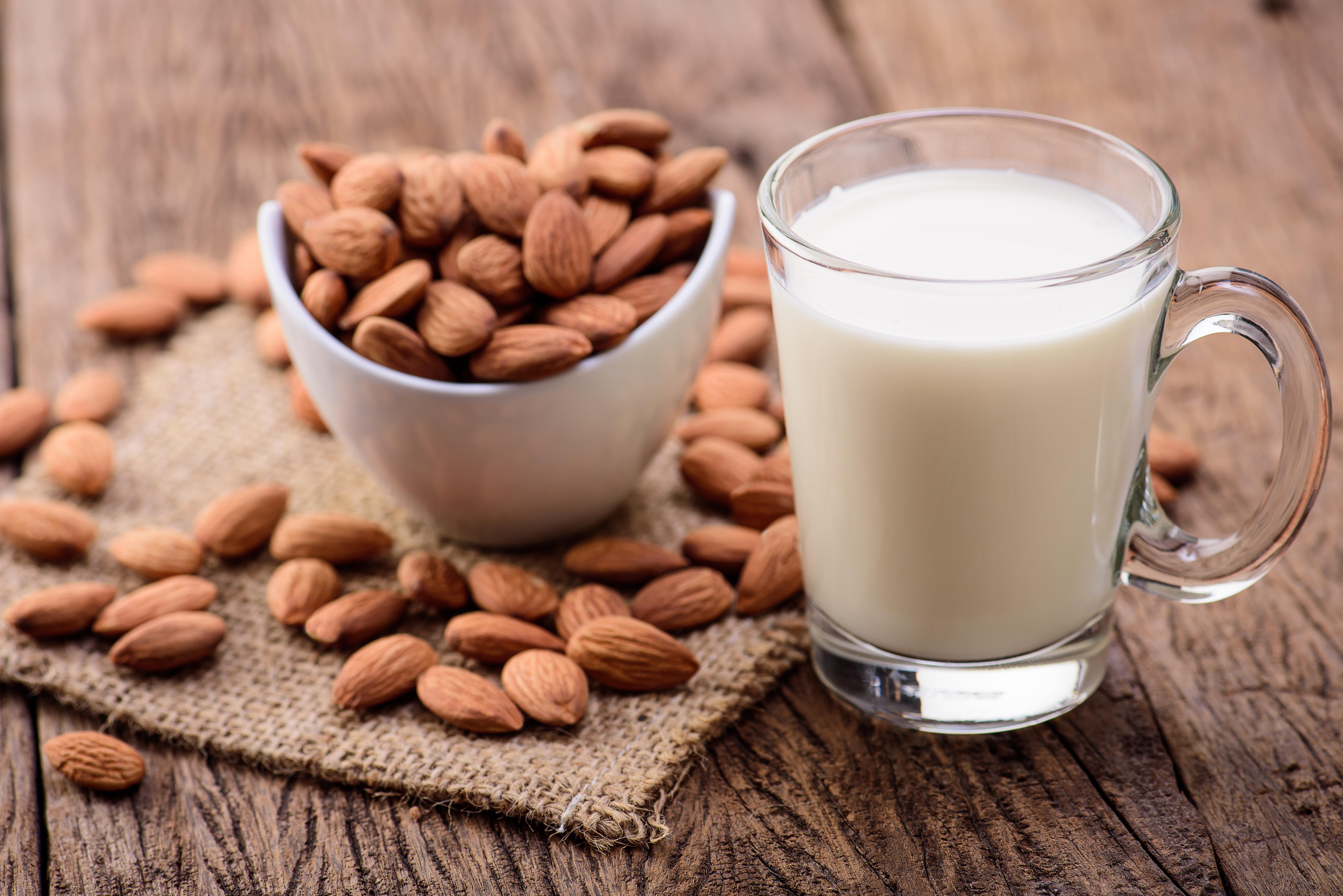Bulk soy and nut milks